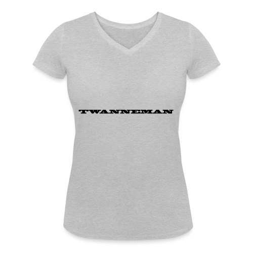 tmantxt - Vrouwen bio T-shirt met V-hals van Stanley & Stella