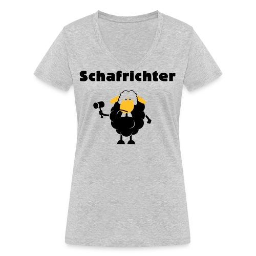 Schafrichter (Richter) - Frauen Bio-T-Shirt mit V-Ausschnitt von Stanley & Stella