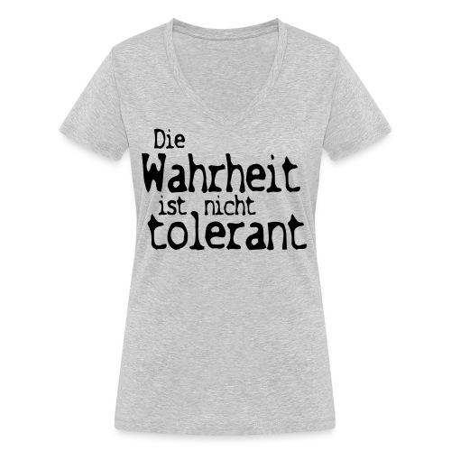 tolerant (JESUS-shirts) - Frauen Bio-T-Shirt mit V-Ausschnitt von Stanley & Stella