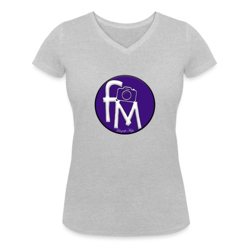 FM - Women's Organic V-Neck T-Shirt by Stanley & Stella