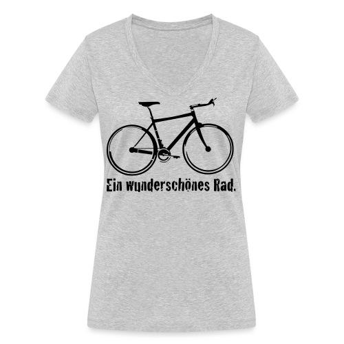 Mein Rad - Frauen Bio-T-Shirt mit V-Ausschnitt von Stanley & Stella