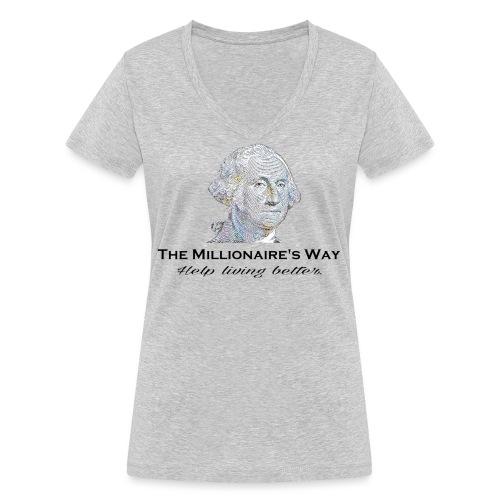 Il nostro logo - T-shirt ecologica da donna con scollo a V di Stanley & Stella
