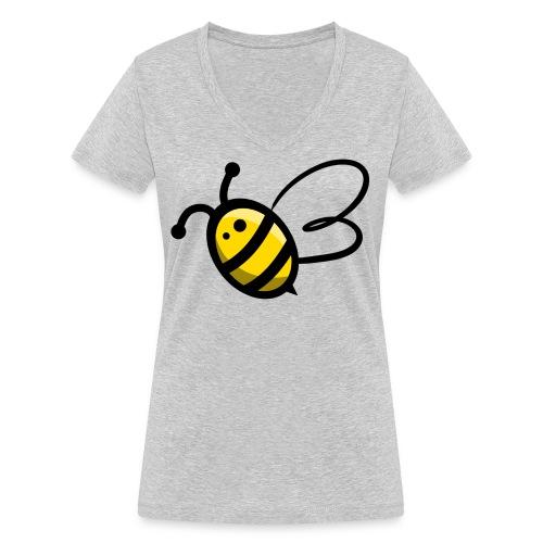 Bee b. Bee - Women's Organic V-Neck T-Shirt by Stanley & Stella