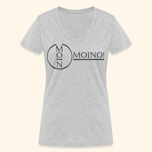Moino! Long Shaped Shirt - Frauen Bio-T-Shirt mit V-Ausschnitt von Stanley & Stella