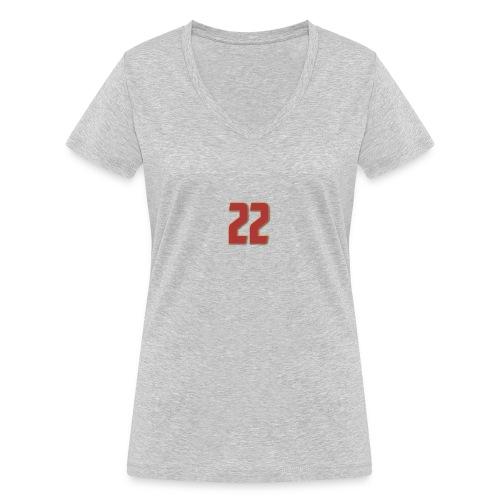 t-shirt zaniolo Roma - T-shirt ecologica da donna con scollo a V di Stanley & Stella
