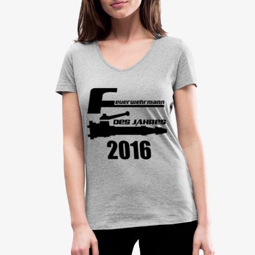 Feuerwehrmann des Jahres - Frauen Bio-T-Shirt mit V-Ausschnitt von Stanley & Stella