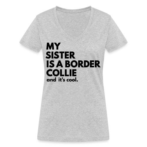MSB_TEE_SISTER - T-shirt bio col V Stanley & Stella Femme