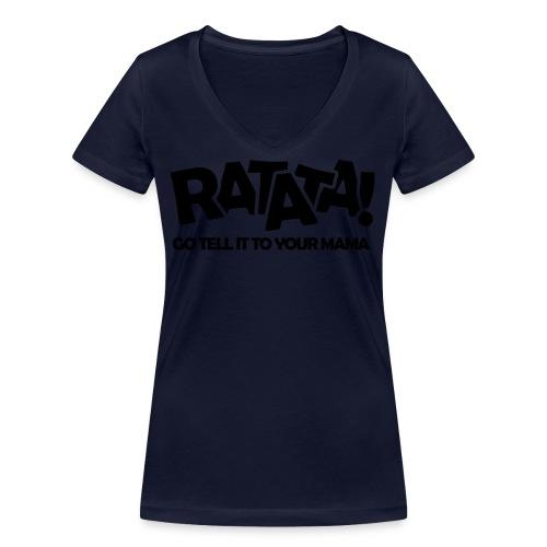 RATATA full - Frauen Bio-T-Shirt mit V-Ausschnitt von Stanley & Stella