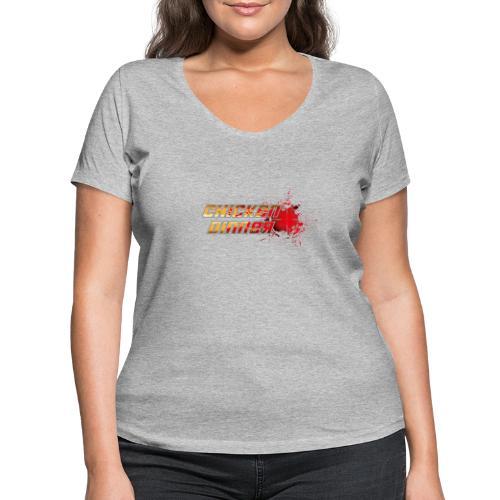 Chicken Dinner - Frauen Bio-T-Shirt mit V-Ausschnitt von Stanley & Stella