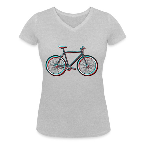 Single-Speeder - Frauen Bio-T-Shirt mit V-Ausschnitt von Stanley & Stella