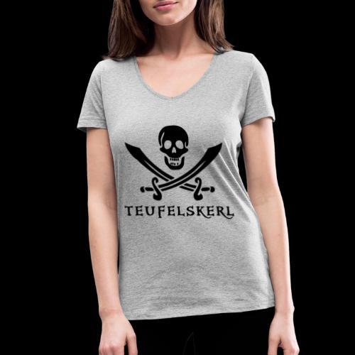 ~ Teufelskerl ~ - Frauen Bio-T-Shirt mit V-Ausschnitt von Stanley & Stella