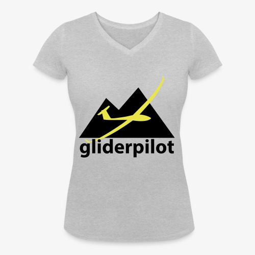 soaring-tv: gliderpilot - Frauen Bio-T-Shirt mit V-Ausschnitt von Stanley & Stella
