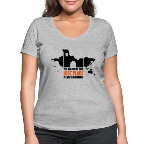 Lost Place - 2colors - 2011 - Frauen Bio-T-Shirt mit V-Ausschnitt von Stanley & Stella
