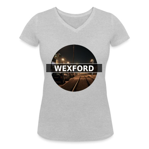 Wexford - Women's Organic V-Neck T-Shirt by Stanley & Stella