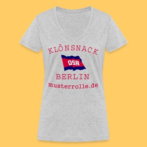 KiB-Logo-gif - Frauen Bio-T-Shirt mit V-Ausschnitt von Stanley & Stella