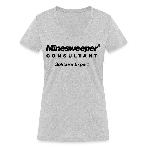 minesweeper - Frauen Bio-T-Shirt mit V-Ausschnitt von Stanley & Stella