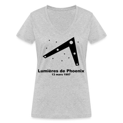 OVNI Lumieres de Phoenix - T-shirt bio col V Stanley & Stella Femme