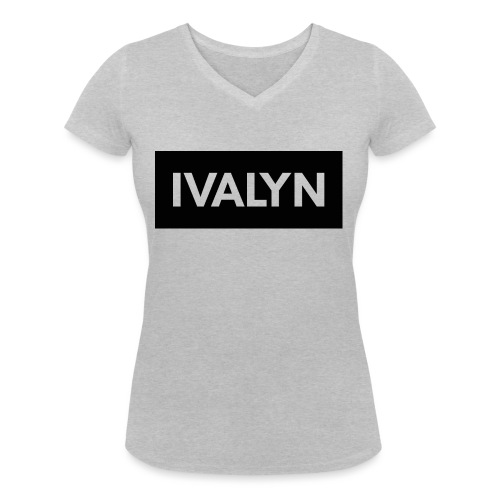 IVALYN1 png - Women's Organic V-Neck T-Shirt by Stanley & Stella