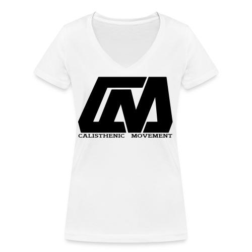 Calisthenic Movement - Frauen Bio-T-Shirt mit V-Ausschnitt von Stanley & Stella