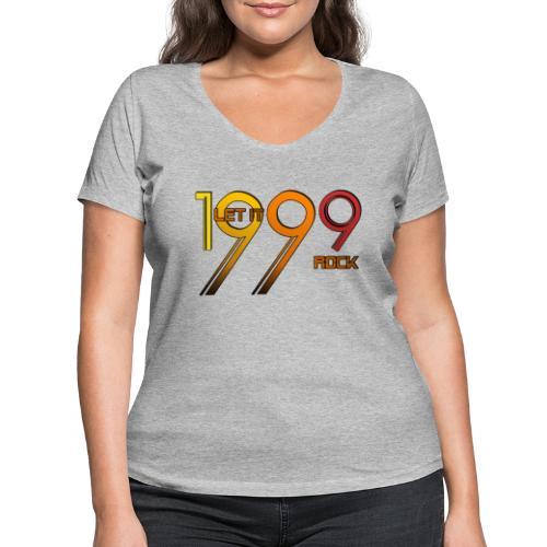 Let it Rock 1999 - Frauen Bio-T-Shirt mit V-Ausschnitt von Stanley & Stella