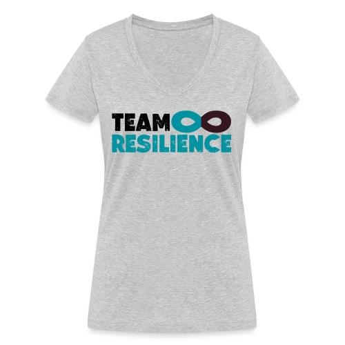 Team Resilience - Ekologisk T-shirt med V-ringning dam från Stanley & Stella