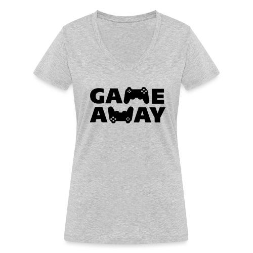 game away - Vrouwen bio T-shirt met V-hals van Stanley & Stella