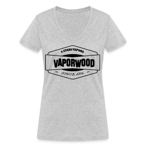 VaporwoodLogo - Frauen Bio-T-Shirt mit V-Ausschnitt von Stanley & Stella
