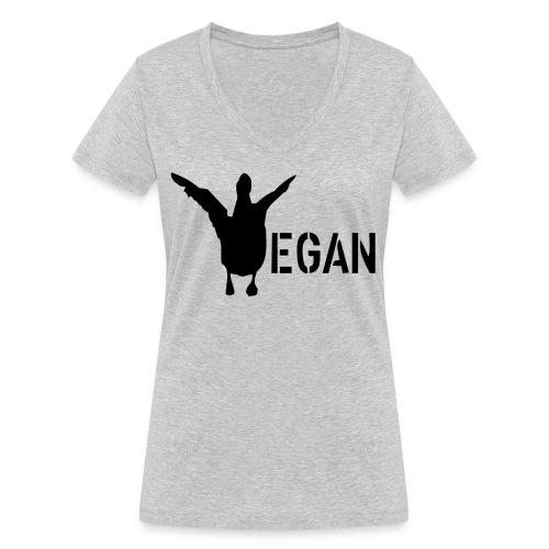 venteklein - Frauen Bio-T-Shirt mit V-Ausschnitt von Stanley & Stella