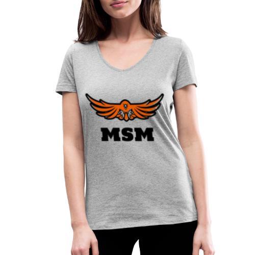 MSM EAGLE - Økologisk Stanley & Stella T-shirt med V-udskæring til damer