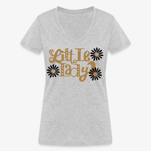 large_little-lady - T-shirt bio col V Stanley & Stella Femme