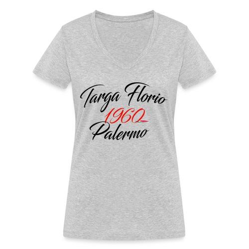 Anciennes courses Italiennes - T-shirt bio col V Stanley & Stella Femme