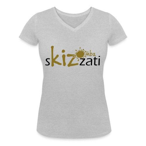 Beanie in jersey con logo sKizzati Kizomba - Verde - T-shirt ecologica da donna con scollo a V di Stanley & Stella