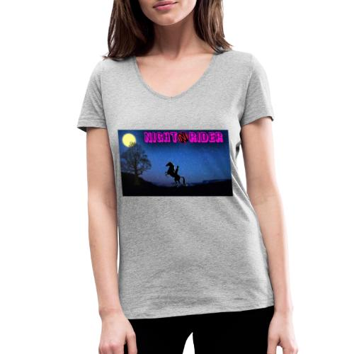 nightrider merch - Økologisk Stanley & Stella T-shirt med V-udskæring til damer