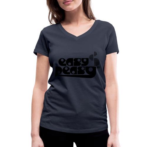 Easy Peasy - Frauen Bio-T-Shirt mit V-Ausschnitt von Stanley & Stella