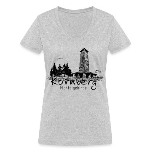 Kronberg Fichtelgebirge - Frauen Bio-T-Shirt mit V-Ausschnitt von Stanley & Stella