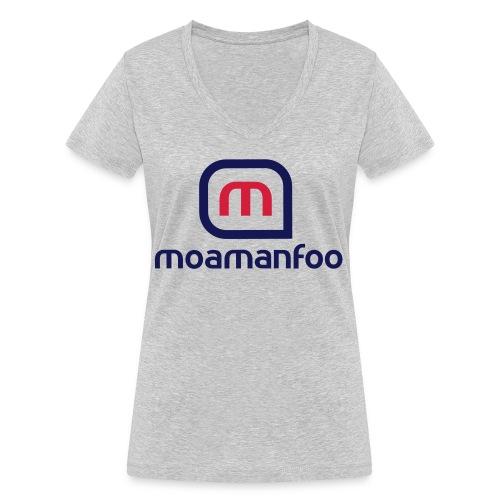 Moamanfoo - T-shirt bio col V Stanley & Stella Femme