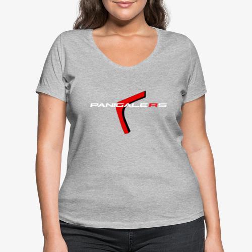 Panigalers - Camiseta ecológica mujer con cuello de pico de Stanley & Stella