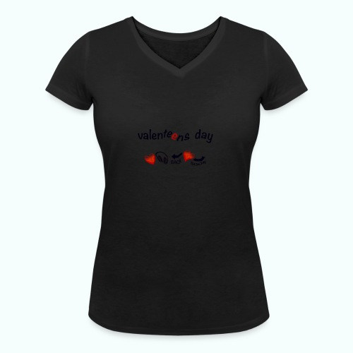 valenteens day - Frauen Bio-T-Shirt mit V-Ausschnitt von Stanley & Stella