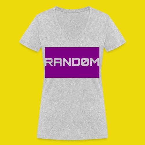 Random Logo - Women's Organic V-Neck T-Shirt by Stanley & Stella
