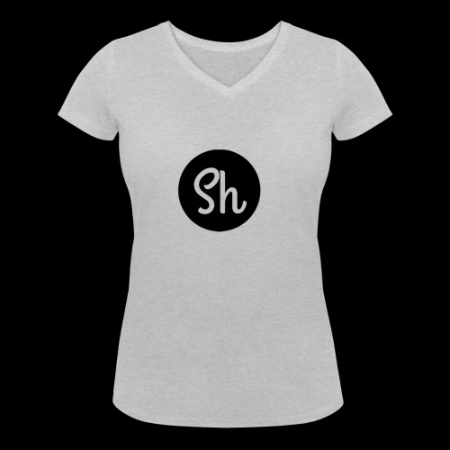 LOGO 2 - Women's Organic V-Neck T-Shirt by Stanley & Stella