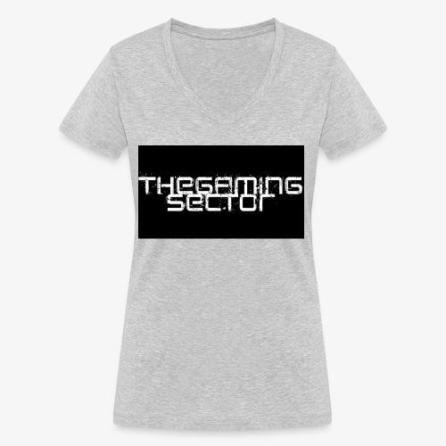 TheGamingSector Merchandise - Women's Organic V-Neck T-Shirt by Stanley & Stella