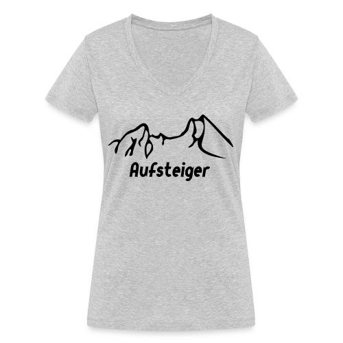 Bergsteiger Shirt - Frauen Bio-T-Shirt mit V-Ausschnitt von Stanley & Stella