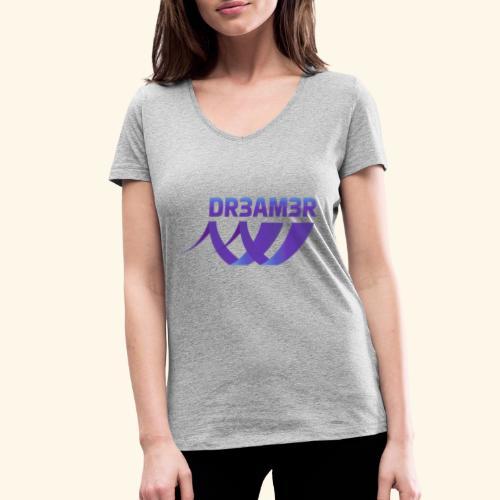 DR3AM3R - Stanley & Stellan naisten v-aukkoinen luomu-T-paita