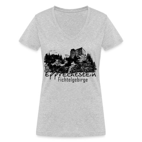 Epprechtstein Fichtelgebirge Fichtelshirt - Frauen Bio-T-Shirt mit V-Ausschnitt von Stanley & Stella