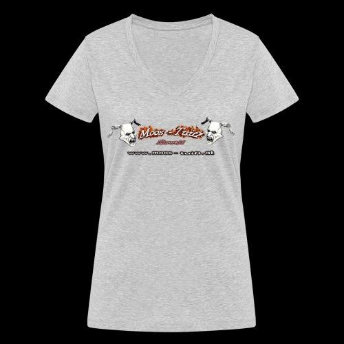 bedruck 2016 hinten original png - Frauen Bio-T-Shirt mit V-Ausschnitt von Stanley & Stella