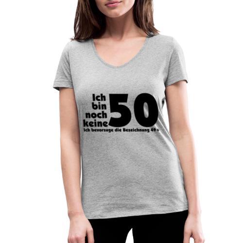 50 Jahre alt/jung - Frauen Bio-T-Shirt mit V-Ausschnitt von Stanley & Stella