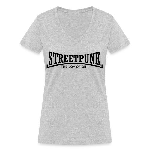 streetpunk the joy of oi! - Frauen Bio-T-Shirt mit V-Ausschnitt von Stanley & Stella