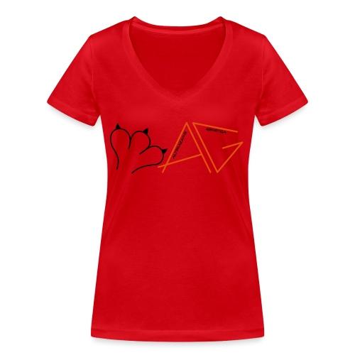 Alterazione Genetica - T-shirt ecologica da donna con scollo a V di Stanley & Stella