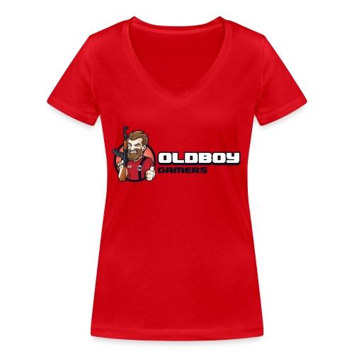 Oldboy Gamers Fanshirt - Økologisk T-skjorte med V-hals for kvinner fra Stanley & Stella