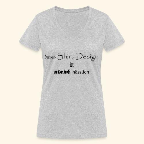 test_shop_design - Frauen Bio-T-Shirt mit V-Ausschnitt von Stanley & Stella